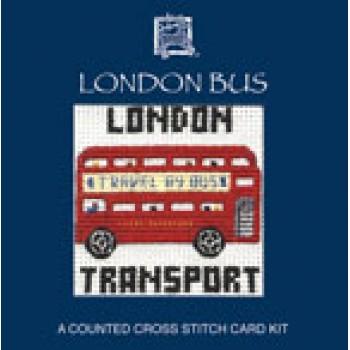 LMLB London Bus Miniature Card