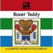 Boxer Teddy Miniature Card