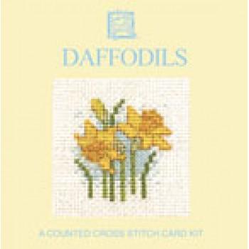 MCDA Daffodils Miniature Card