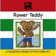 MCRT - Rower Teddy Miniature Card - SALE