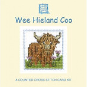 MCWHC Wee Hieland Coo Miniature Card