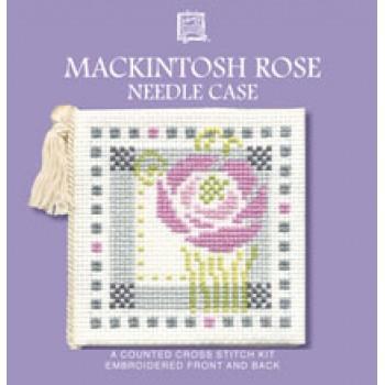 MRNC Mackintosh Rose Needle Case