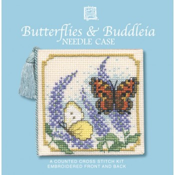 NCBB Butterflies & Buddleia Needle Case