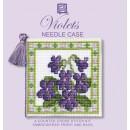 Violets Needle Case