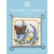 PCBB Butterflies & Buddleia Pincushion