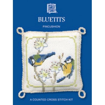 PCBT Bluetits Pincushion