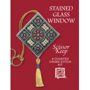 SKSG Stained Glass Window Scissor Keep