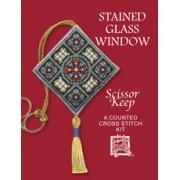 SKSG Stained Glass Window Scissor Keep