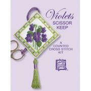 Violets Scissor Keep