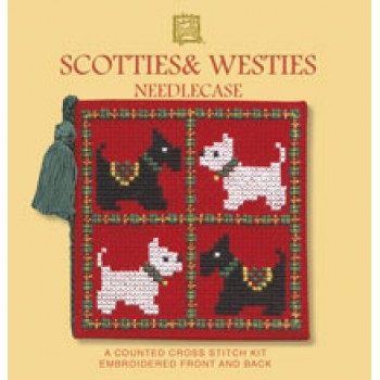 SWNC Scotties & Westies Needle Case