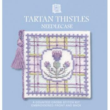 TTNC Tartan Thistles Needle Case