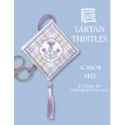 TTSK Tartan Thistles Scissor Keep