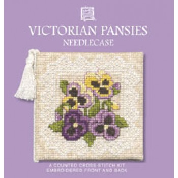 VPNC Victorian Pansies Needle Case