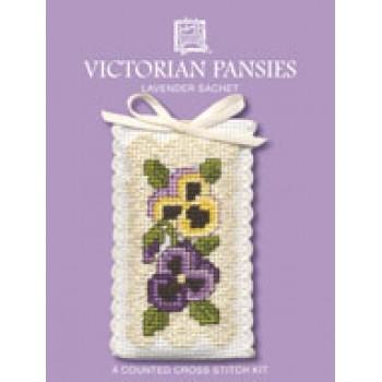 VPSA Victorian Pansies Sachet