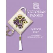 VPSK Victorian Pansies Scissor Keep