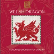 WEWD Welsh Dragon Miniature Card