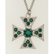 013P Maltese Cross Pendant