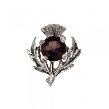 144 Scottish Thistle Brooch