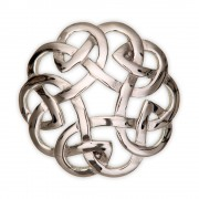 157 Eternal Interlace Brooch