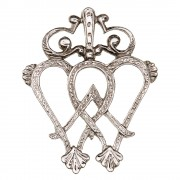 002 Luckenbooth Brooch
