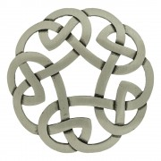 247 Antique Celtic Interlace Brooch