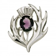 052 Scottish Thistle Brooch