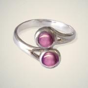 February (Amethyst) Ring