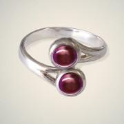 January (Garnet) Ring
