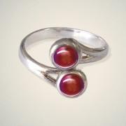 July (Ruby) Ring