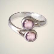 June (Light Amethyst) Ring