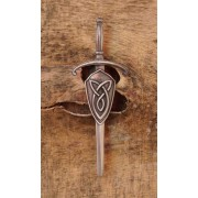 070 ANT Celtic Interlace Antique Kiltpin SALE