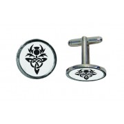 CL CT - Celtic Thistle Engraved Cufflinks
