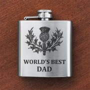 HF3 BD - Sporran Flask 'Best Dad'