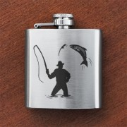 HF3 FM - Sporran Flask Fisherman