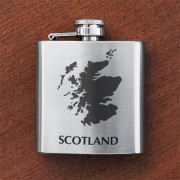 HF3 SM - Sporran Flask Scotland Map