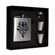 HF6 S 6oz Hip Flask Box Set