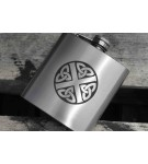 6oz Stainless Steel Hip Flask (AP/HF6)
