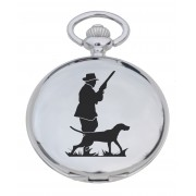 PW HU - Huntsman Engraved Pocket Watch