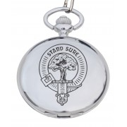 PW C - Clan Crest Engraved Pocket Watch