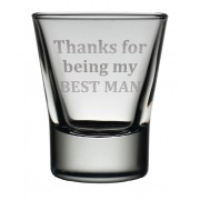 TOT BM - Dram Glass 'Best Man'