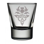 TOT CT - Dram Glass Celtic Thistle