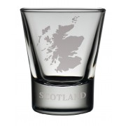 TOT SM - Dram Glass Scotland Map