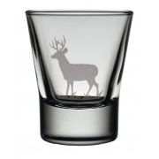 TOT ST - Dram Glass Stag