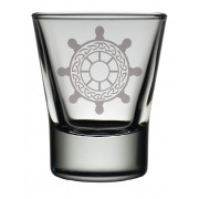 TOT SW - Dram Glass Ships Wheel
