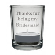 VOT BM - 'Bridesmaid' Candle Votive