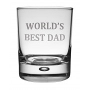 WG BD - Whisky Tumbler 'Best Dad'