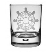 WG SW - Whisky Tumbler Ships Wheel