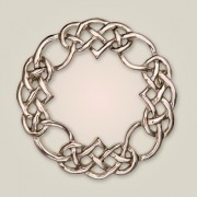 161 Eternal Interlace Brooch