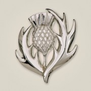 051 Scottish Thistle Brooch