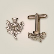 102CL Scottish Thistle Cufflinks